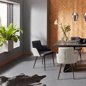 Places of Style Esstisch »Koral«, mit einer schönen Keramik Tischplatte, mit praktischer Auszugsfunktion, ausziehbar auf 260 cm