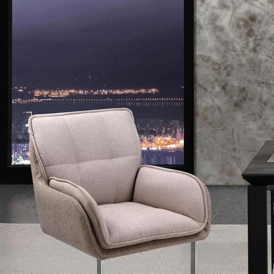 Places of Style Esszimmerstuhl »Durham« (Set), 2er-Set in modernem Design, Sitz und Rücken gepolstert