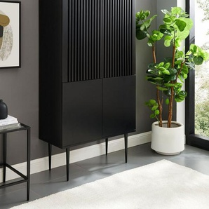 Places of Style Highboard »Saltaire«, In modernem Design, Ganzmetall-Scharniere