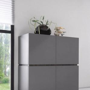 Places of Style Highboard »Zela«, 4-türig, Breite 123 cm