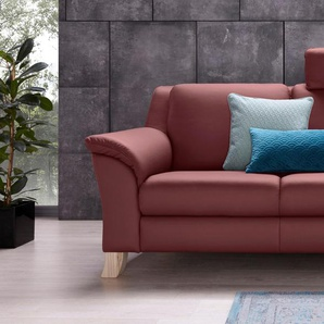 Recamiere , rot, 208cm, Recamiere links, »Kama«, Places of Style