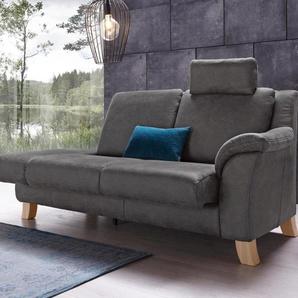 Recamiere , grau, mit Funktion, 208cm, Recamiere rechts, »Kama«, Places of Style