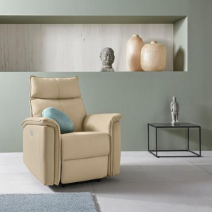 Places of Style Relaxsessel »Zola«, mit hohen Sitzkomfort, elektischer Relaxfunktion und USB-Steckeranschluss, Breite 87 cm