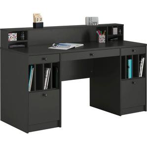 Places of Style Schreibtisch »Licia«, Schreibtisch Licia Große Arbeitsplatte mit viel Ablagefläche