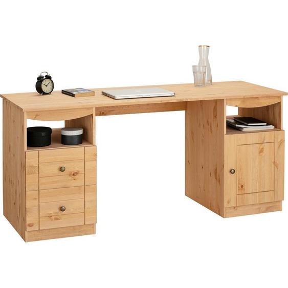 Places of Style Schreibtisch »Telde«, aus Kiefer massiv, Breite 160 cm