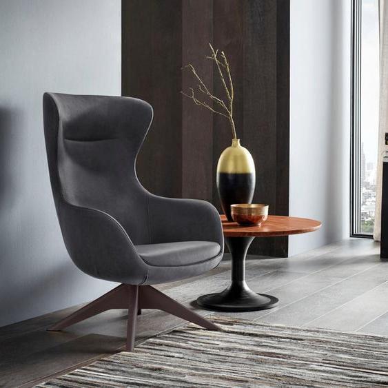Places of Style Stuhl »Leona«, mit Füßen aus massiver Esche, natur- oder wallnussfarben lackiert
