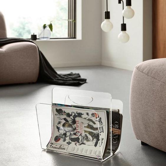 Places of Style Zeitungsständer »Remus«, aus Acrylglas