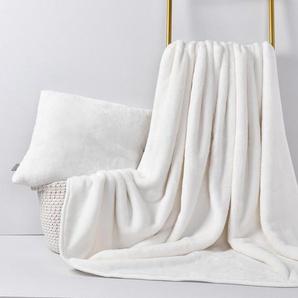 Plaid, grace grand spa, mit Polyester-Mikrofaser