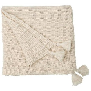Plaid »Knitted Tassel Throw«, Lexington