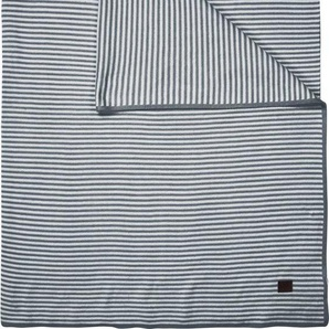 Plaid »Linnea«, Marc OPolo Home, mit Streifen