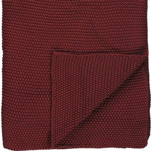 Plaid »Nordic Knit«, Marc OPolo Home, Strickoptik
