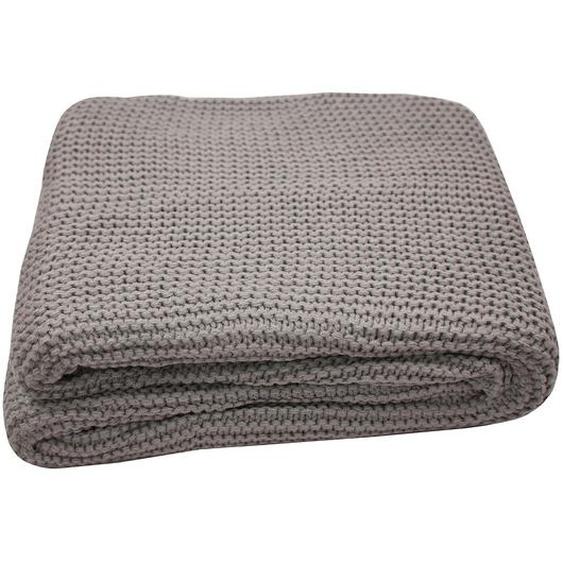 Tom Tailor Plaid T-Plain Knit Schlamm Webstoff 130x170 cm (BxT)