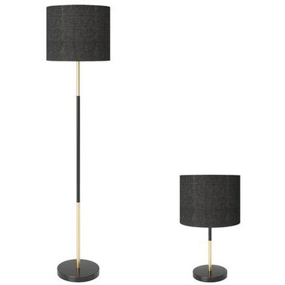 PLAYBOY Lampe »ALESHA«, Stofflampenschirm