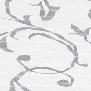 HOME WOHNIDEEN Plissee-Faltenstor mit Blumenmuster