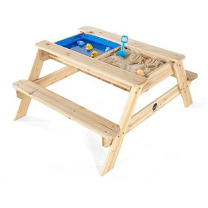 Plum® Kinder Picknicktisch, mit Sandkasten und Wasserspiel, ab 18 Monaten