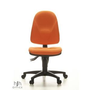 POINT 20 - Home Office Bürostuhl Orange Stoff