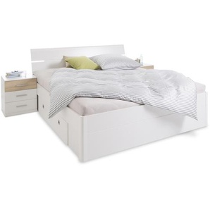 Pol Power Schlafzimmer-Set, Weiß, Kunststoff