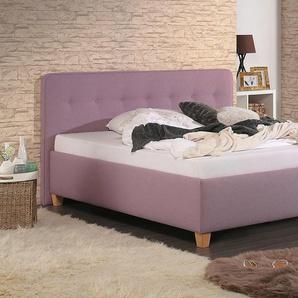 Home affaire Polsterbett »Figaro«, lila, 100x200cm