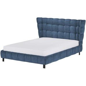 Polsterbettgestell 140x200 - blau Caterham ¦ blau ¦ Maße (cm): B: 168 H: 109 T: 214 Betten  Polsterbetten » Höffner