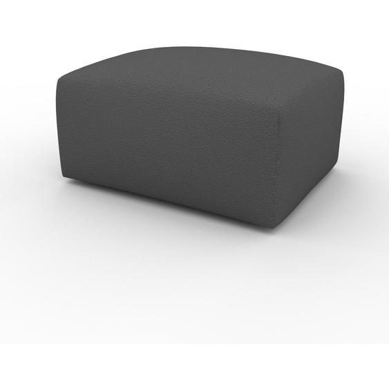 Polsterhocker Anthrazit - Eleganter Polsterhocker: Hochwertige Qualität, einzigartiges Design - 80 x 42 x 64 cm, Individuell konfigurierbar