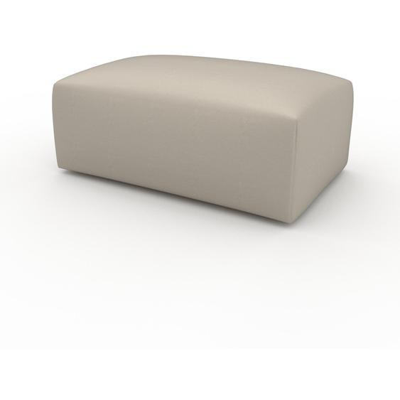 Polsterhocker Cremeweiß - Eleganter Polsterhocker: Hochwertige Qualität, einzigartiges Design - 100 x 42 x 64 cm, Individuell konfigurierbar