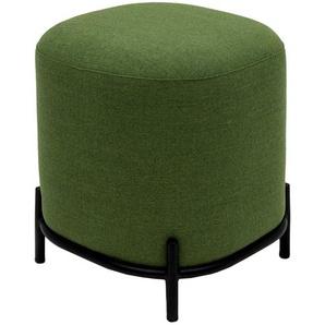Polsterhocker - grün - 42 cm - 46 cm - 42 cm   Möbel Kraft