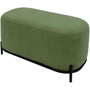 Polsterhocker - grün - 82 cm - 46 cm - 42 cm   Möbel Kraft