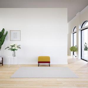 Polsterhocker Kirschrot - Eleganter Polsterhocker: Hochwertige Qualität, einzigartiges Design - 60 x 48 x 60 cm, Individuell konfigurierbar