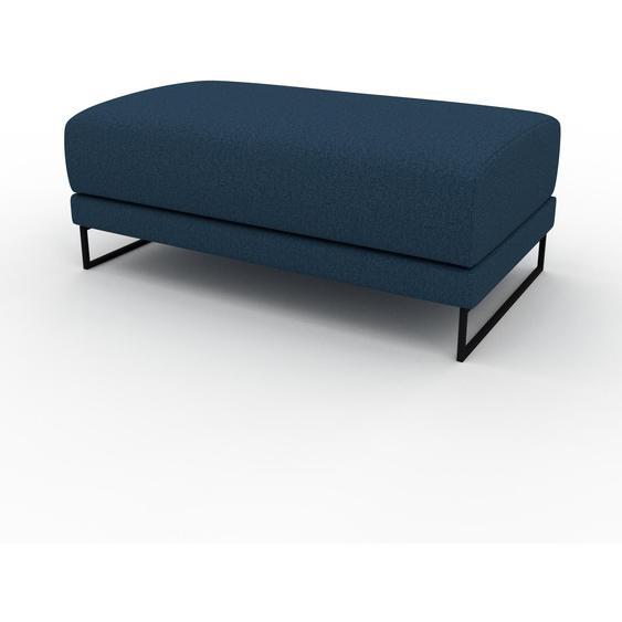 Polsterhocker Ozeanblau - Eleganter Polsterhocker: Hochwertige Qualität, einzigartiges Design - 100 x 42 x 60 cm, Individuell konfigurierbar