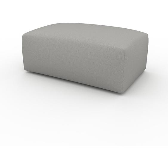 Polsterhocker Sandgrau - Eleganter Polsterhocker: Hochwertige Qualität, einzigartiges Design - 100 x 42 x 64 cm, Individuell konfigurierbar