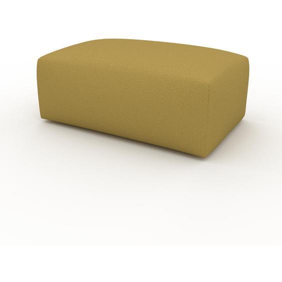 Polsterhocker Senfgelb - Eleganter Polsterhocker: Hochwertige Qualität, einzigartiges Design - 100 x 42 x 64 cm, Individuell konfigurierbar