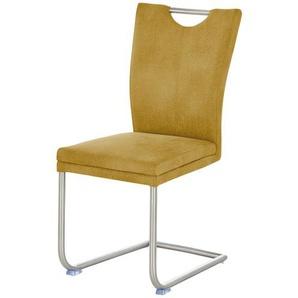 Stuhl  Top Chairs ¦ gelb ¦ Maße (cm): B: 44 H: 94 T: 58