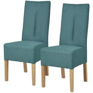 INOSIGN Stuhl »Theda« im 2er-Set, blau