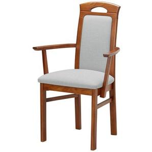 Esszimmer-Stuhl   4ever ¦ blau ¦ Maße (cm): B: 58 H: 98 T: 57 Stühle  Esszimmerstühle  Esszimmerstühle mit Armlehnen » Höffner