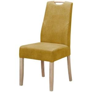 Stuhl | gelb | 45 cm | 88 cm | 57 cm | Möbel Kraft