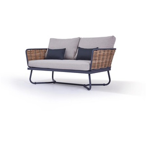 Polyrattan Sofa Astra 145 cm - honig