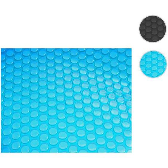 Pool-Abdeckung W�rmeplane Abdeckplane Solarplane Solarabdeckung, St�rke: 200 �m ~ rund 4,57m blau