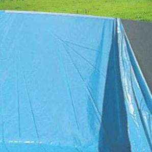 Pool-Innenhlle Innenplane Schwimmbadfolie, Strke 0,5mm ~  4,57m x 1,32m