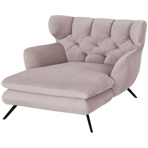 Longseat-Sessel  Caldara ¦ rosa/pink ¦ Maße (cm): B: 126 H: 94 T: 160 Polstermöbel  Sessel  Polstersessel » Höffner