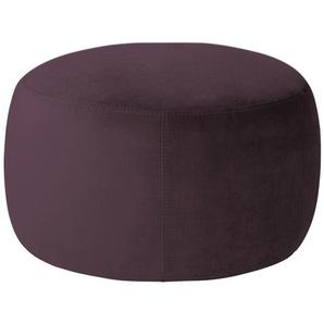 pop Samt Hocker  Amadi ¦ lila/violett ¦ Maße (cm): H: 40 Ø: 60