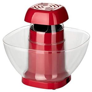 Popcorn Maker XL 1200W   Popcorn für die ganze Familie   Einfach & praktisch mit Heißluftzirkulation ohne Öl   4 Min Zubereitungszeit   Für 40-60 Gramm Mais   Popcornmaschine mit abnehmbarem Behälter