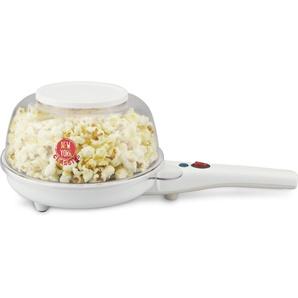 2-in-1-Crêpesmaker Crepemaker & Popcornmaker TKG PCM 1002 W, weiß, Team Kalorik