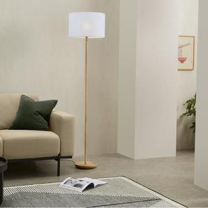 Porto Lampenschirm (40 x 24 cm), Leinen in Weiss