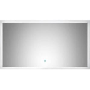 Posseik LED-Lichtspiegel 65 cm x 120 cm Neutralweiß Touch-Bedienung EEK: A++