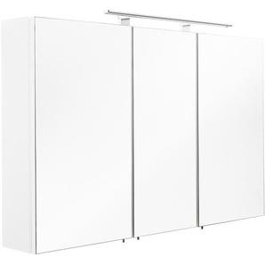 Posseik Spiegelschrank 110 cm Multi-Use Weiß EEK: A++