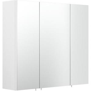 Posseik Spiegelschrank Multi-Use 68 cm x 71 cm Weiß
