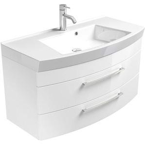 Posseik Waschplatz Rima 100 cm Weiß