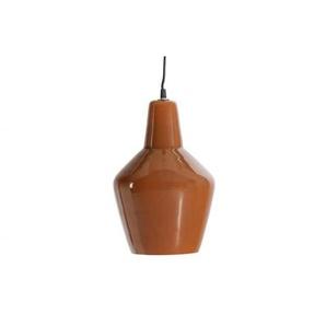 Pottery Hängende Lampe Glas orange