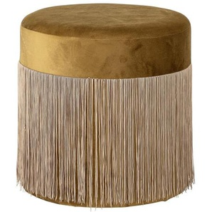 Pouf, Gelb, Polyester