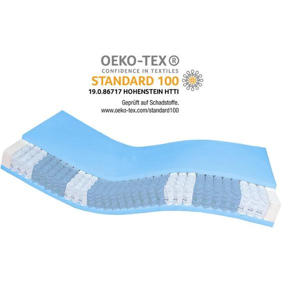 Premium 7-Zonen Taschenfederkernmatratze - 105x190 cm - H4